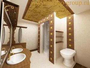 Ванная комната дизайн от adeco.