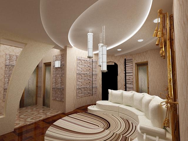 Дизайн однокомнатной квартиры adeco group