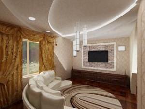 Дизайн стены в комнате. Обои,декор.