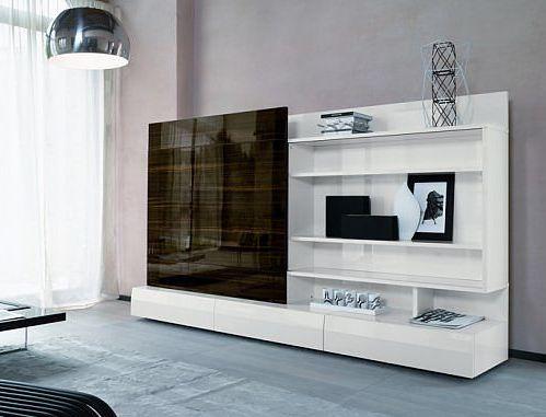 Интерьер комнаты в белом