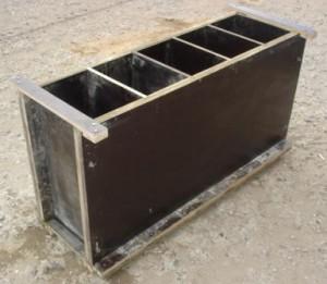 Форма для приготовления блока из пенобетона