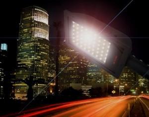 уличный светодиодный светильник
