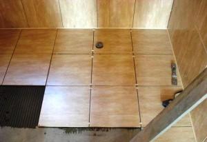 Укладка плитки 45x45