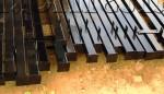 Покраска металлических столбов